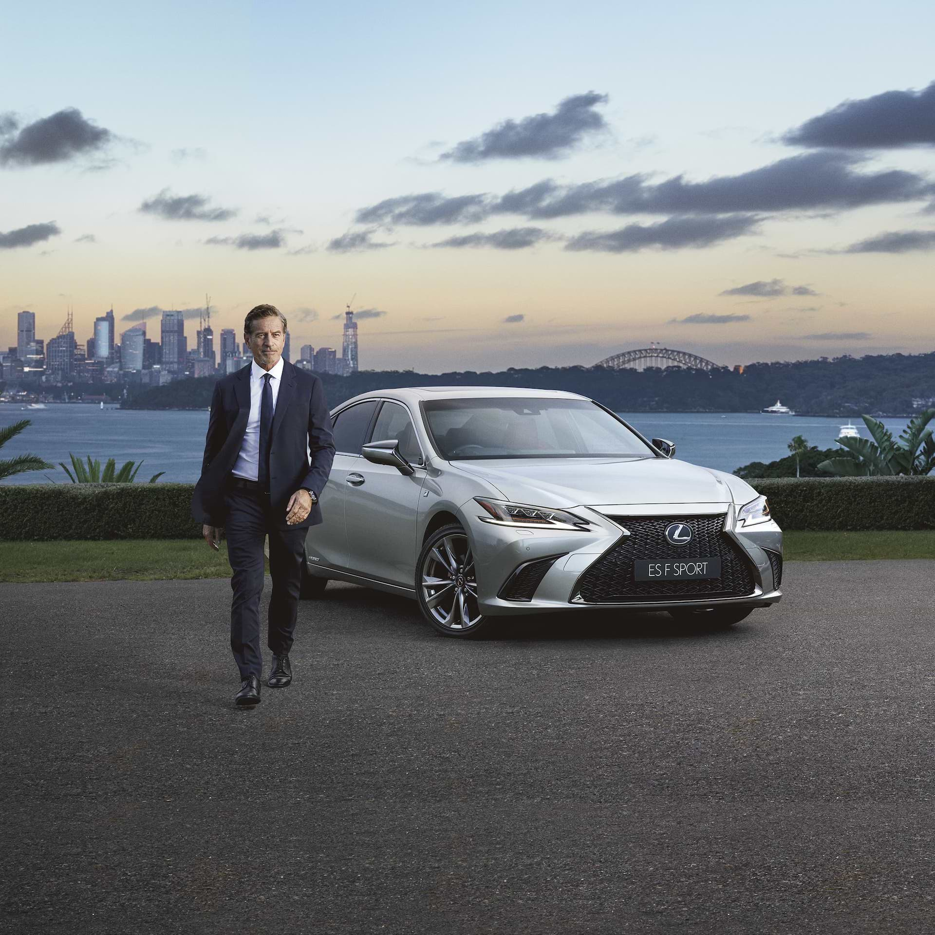 Lexus ambassador Mark Bouris
